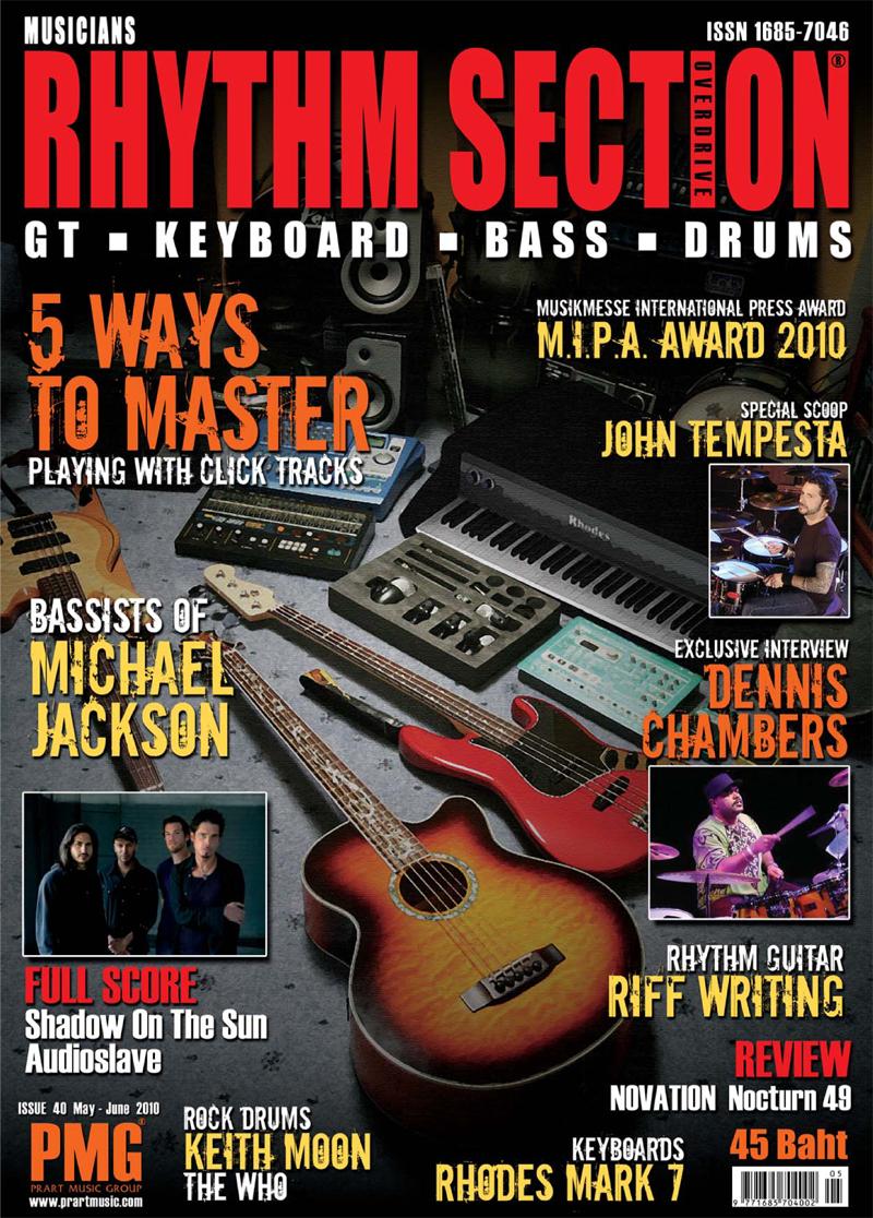 Rhythm Section Magazine Issue 40