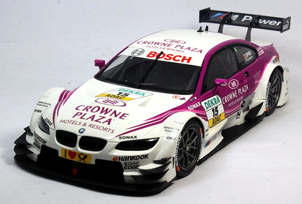 Pre Order โมเดลรถ BMW M3 DTM 2012 ม่วงขาว 1:18 รุ่นหายากสุดๆ มีโปรโมชั่น