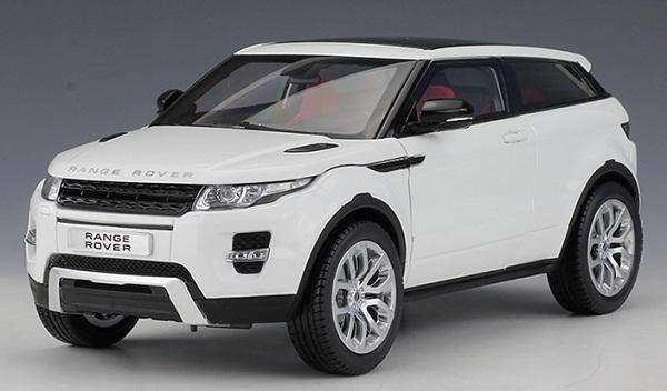 Pre Order โมเดลรถ Land Rover Aurora ขาว 1:18 รุ่นหายากสุดๆ มีโปรโมชั่น