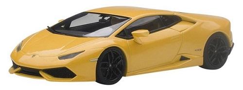 ขาย พรีออเดอร์ โมเดลรถเหล็ก โมเดลรถยนต์ Autoart Lamborghini Huracan เหลือง สเกล 1:43 มี โปรโมชั่น
