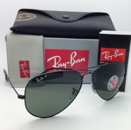 Ray Ban RB3025 002/58 Aviator Polarized 55/58/62mm