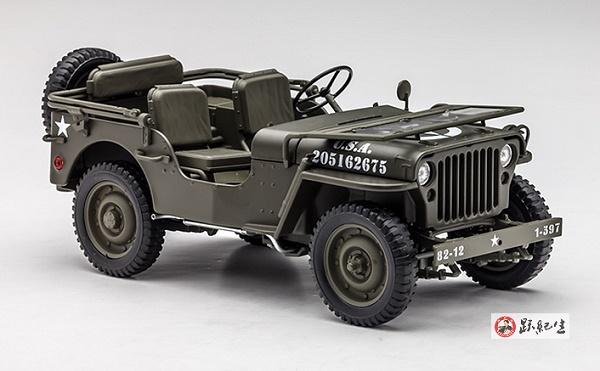 Pre Order โมเดลรถ Jeep US Army สงครามโลกครั้งที่ 2 1:18 รุ่นหายากสุดๆ มีโปรโมชั่น