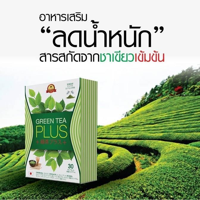 Green Tea Plus กรีนทีพลัส (อาหารเสริมลดน้ำหนัก)