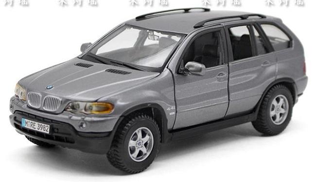 ขาย pre order โมเดลรถยนต์ BMW X5 1:24 สีเทา มี โปรโมชั่น งานหายาก