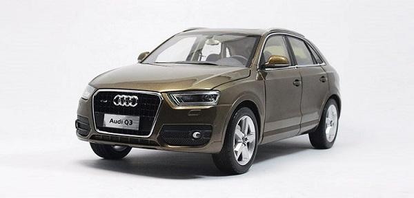 Pre Order โมเดลรถ Audi Q3 น้ำตาล 1:18 รุ่นหายากสุดๆ มีโปรโมชั่น