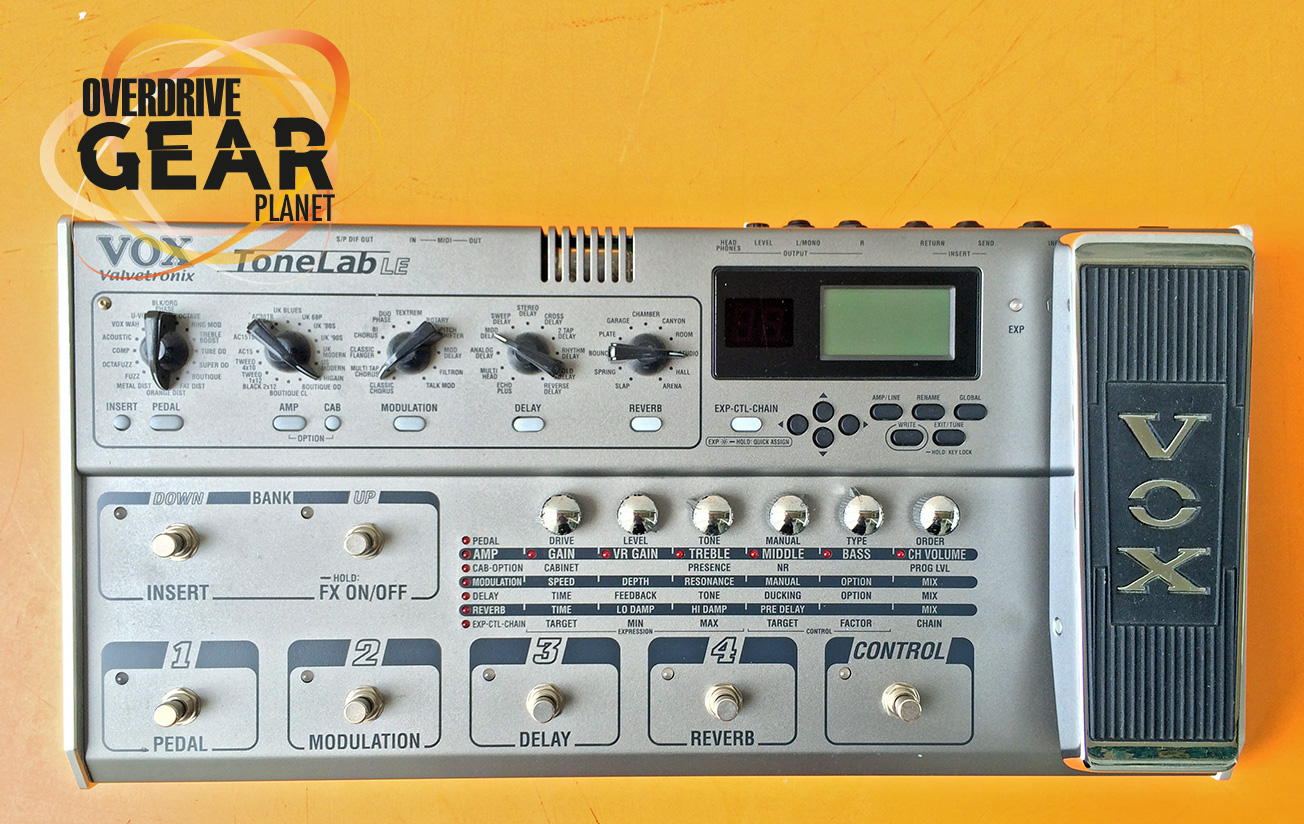 Vox Tonelab LE Guitar Multi Effects Pedal Owned by Ohm Chatree Kongsuwan