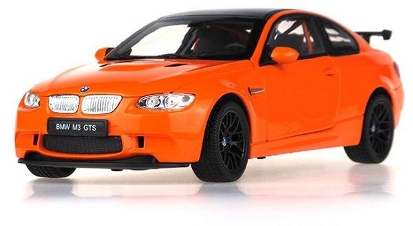 ขาย พรีออเดอร์ โมเดลรถเหล็ก โมเดลรถยนต์ BMW M3 GTS 1:24 สเกล ส้ม มี โปรโมชั่น