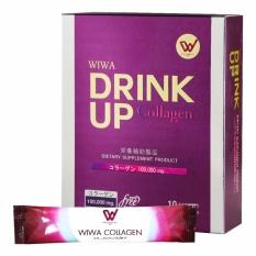 WIWA Drink up Collagen วีว่าคอลลาเจน สลายฝ้า เกรดพรีเมี่ยม จากญี่ปุ่น 100,000mg.
