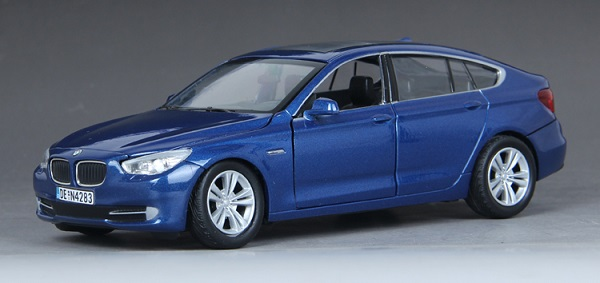 ขาย pre order โมเดลรถยนต์ BMW 535i GT น้ำเงิน 1:24 มี โปรโมชั่น