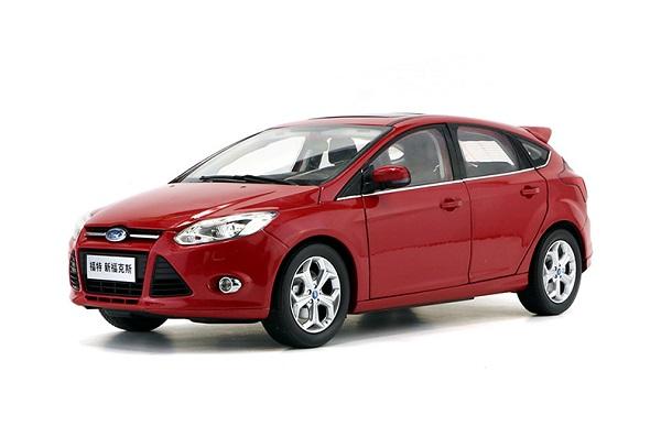 Pre Order โมเดลรถ Ford Focus สีแดง 1:18 รุ่นหายาก ขายดี มีโปรโมชั่น