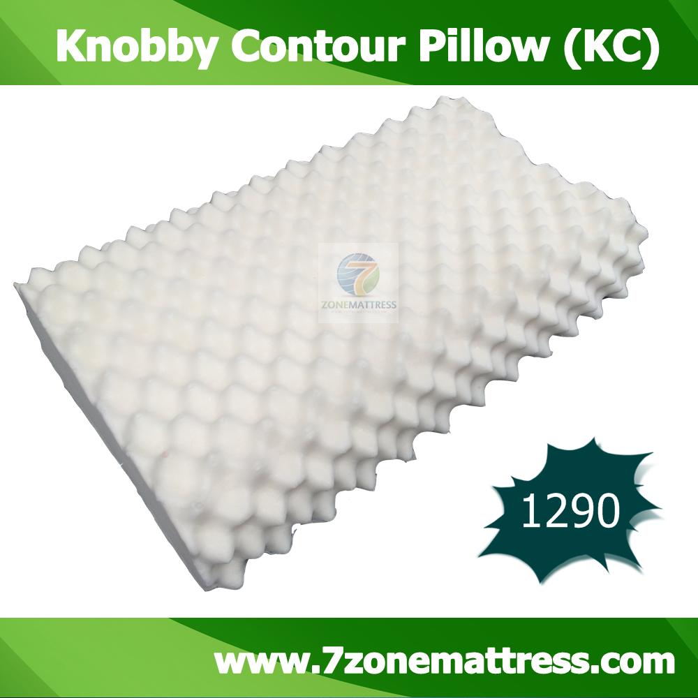 หมอนยางพารา รุ่น Knobby Contour Pillow