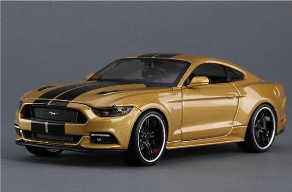 ขาย พรีออเดอร์ โมเดลรถเหล็ก โมเดลรถยนต์ Ford Mustang 2015 GT 1:24 สเกล มี โปรโมชั่น