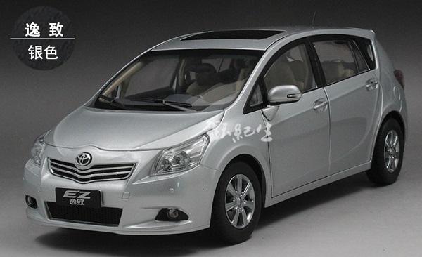 Pre Order โมเดลรถ Toyota EZ เงิน สเกล 1:18 งานคุณภาพ หายากมาก มีโปรโมชั่น