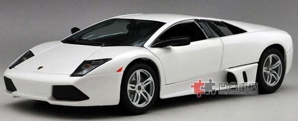 Pre Order โมเดลรถ Lamborghini lp640 murcielago ขาว 1:18 รุ่นหายากสุดๆ มีโปรโมชั่น