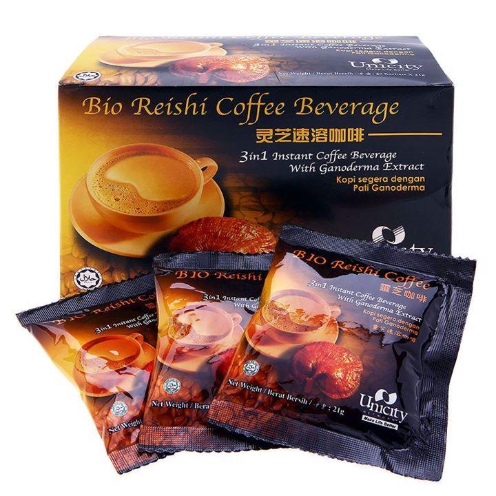 Bio Reishi Coffee ( กาแฟไบโอริช )