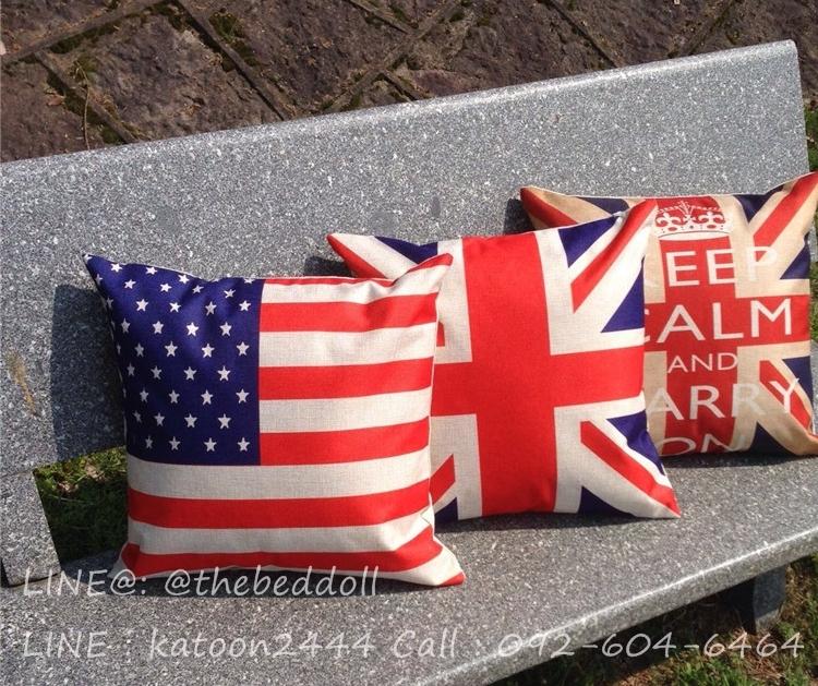 หมอนอิงลายธงชาติอังกฤษ,หมอนอิงธงชาติ