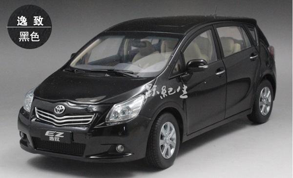 Pre Order โมเดลรถ Toyota EZ ดำ สเกล 1:18 งานคุณภาพ หายากมาก มีโปรโมชั่น