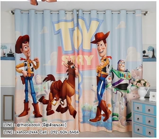 ผ้าม่าน ลายทอยสตอรี่ Toy Story