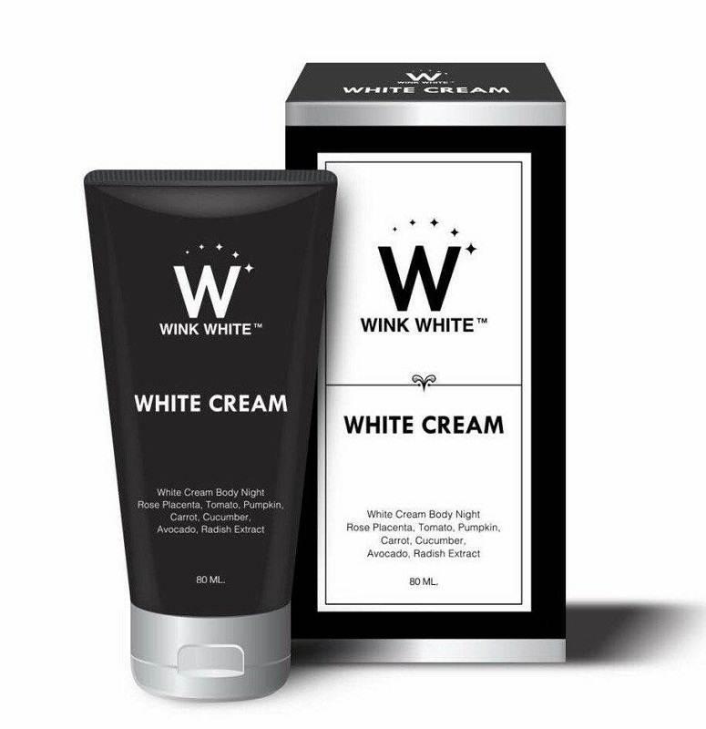 White Cream by Wink White ไวท์ครีม หัวเชื้อเร่งขาว (สตูรใหม่)