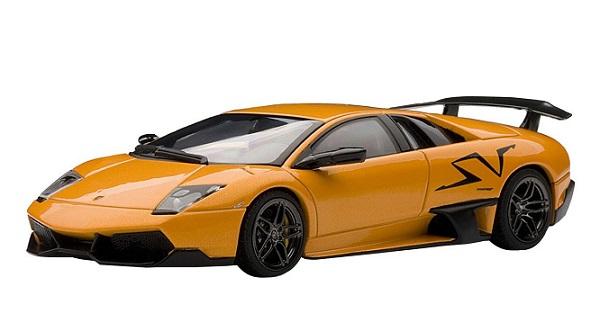 ขาย พรีออเดอร์ โมเดลรถเหล็ก โมเดลรถยนต์ Autoart Lamborghini Autoart LP670-4 SV ส้ม สเกล 1:43 มี โปรโมชั่น