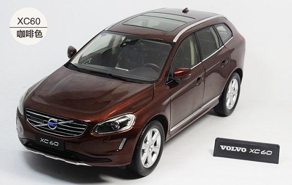 Pre Order โมเดลรถ Volvo XC60 น้ำตาล 1:18 รุ่นหายากสุดๆ มีโปรโมชั่น