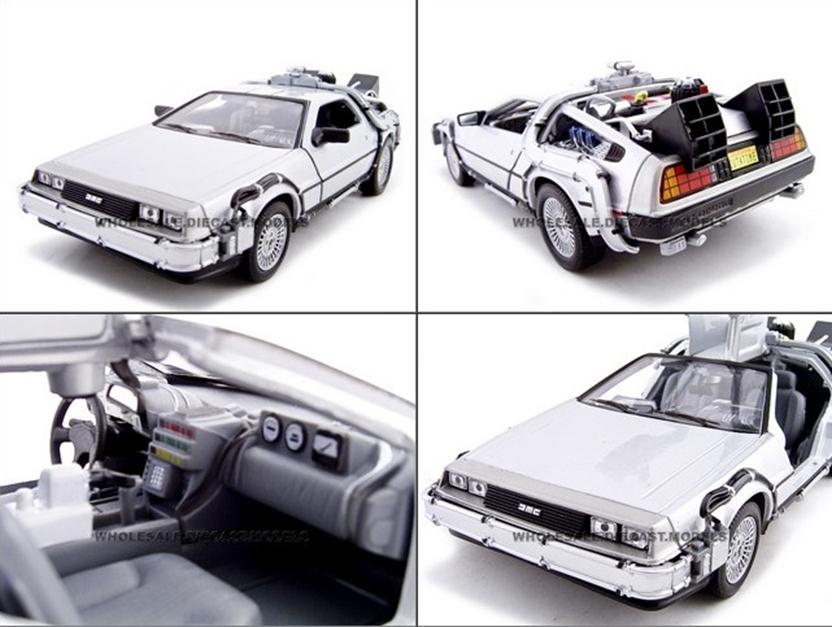 โมเดลลรถ โมเดลรถเหล็ก โมเดลรถยนต์ back to future 2