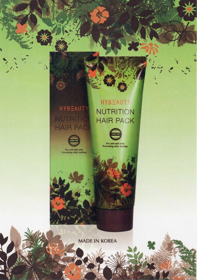 ครีมหมักผม ไฮบิวตี้ นูทริชั่น แฮร์ แพค HyBeauty Nutrition Hair Pack