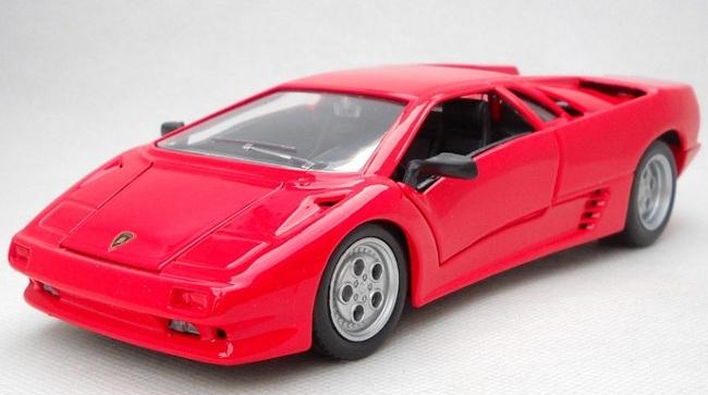 ขาย พรีออเดอร์ โมเดลรถเหล็ก โมเดลรถยนต์ Lamborghini Diablo แดง 1:24 มีโปรโมชั่น