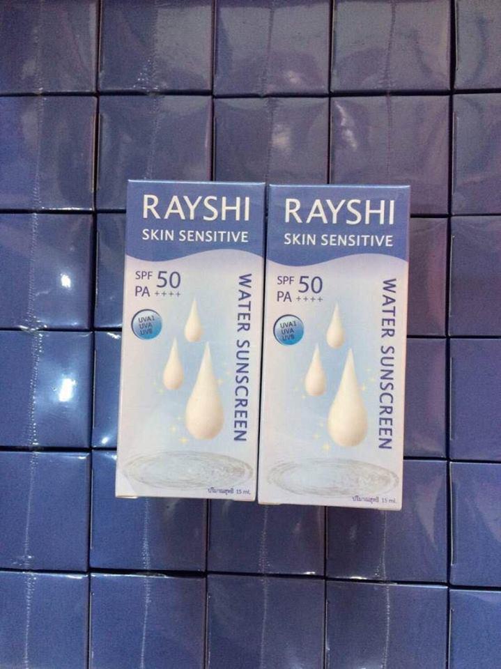 Rayshi Skin Sensitive Water Sunscreen กันแดดเรชิ