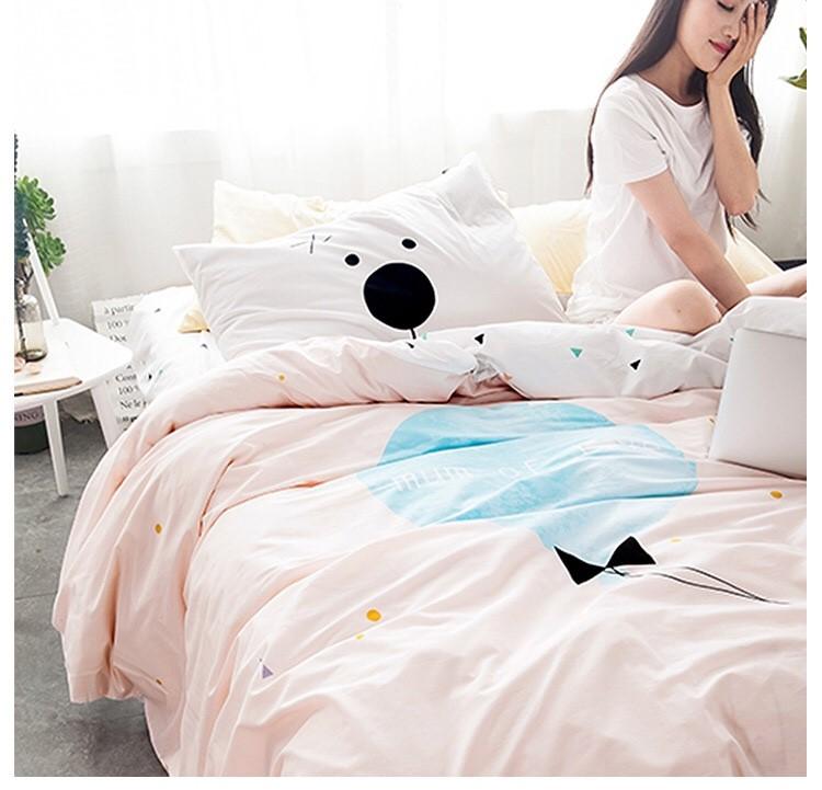 ผ้าปูที่นอนลายสวยสวย Bedding Set