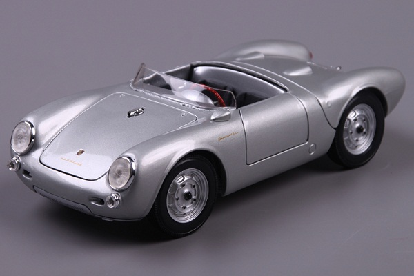 Pre Order โมเดลรถ Porsche 550A Spyder เงิน 1:18 รุ่นหายากสุดๆ มีโปรโมชั่น