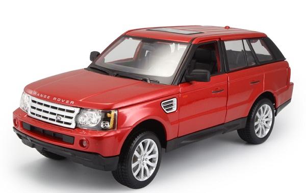 Pre Order โมเดลรถ Range Rover SUV แดง 1:18 รุ่นหายากสุดๆ มีโปรโมชั่น