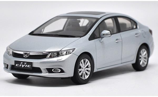 Pre Order โมเดลรถ Honda Civic gen 9 2011 ฟ้าอ่อน 1:18 รุ่นหายาก งานคุณภาพ มีโปรโมชั่น