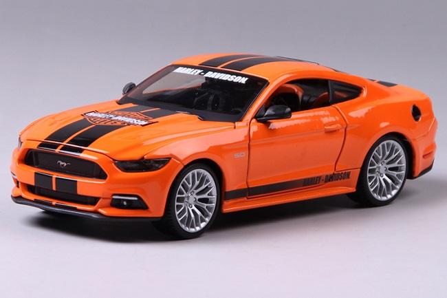 ขาย พรีออเดอร์ โมเดลรถเหล็ก Ford 2015 Mustang GT 1:24 มีโปรโมชั่น