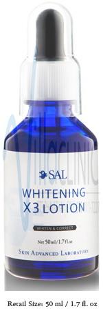 SAL Whitening X3 Lotion (10ml)
