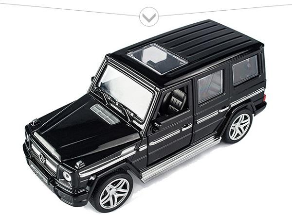 พร้อมส่ง รถโมเดล รถเหล็ก มีไฟมีเสียง Benz G65 1:32 มี โปรโมชั่น