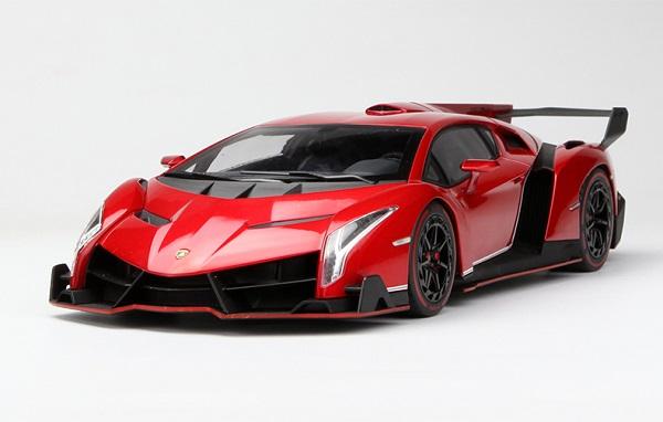 Pre Order โมเดลรถ Lamborghini Veneo แดง 1:18 รุ่นหายากสุดๆ มีโปรโมชั่น