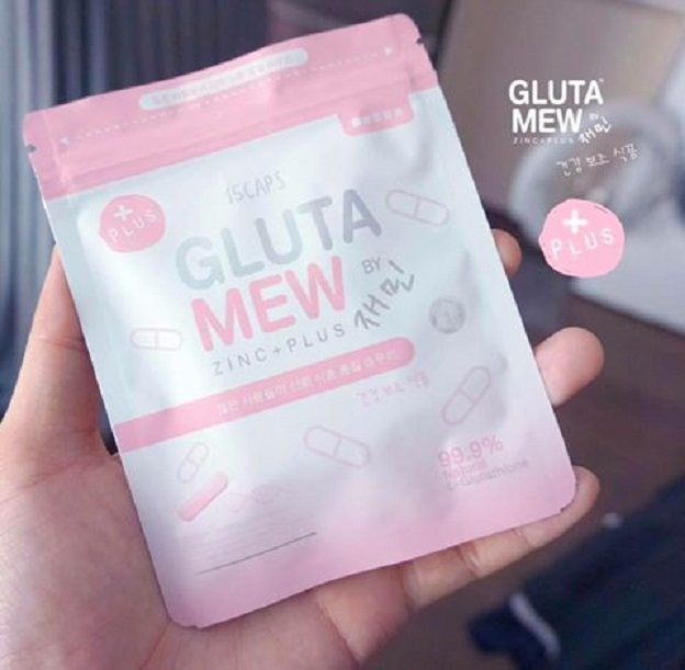 Gluta Mew Plus+ กลูต้ามิวพลัส (15 แคปซูล)