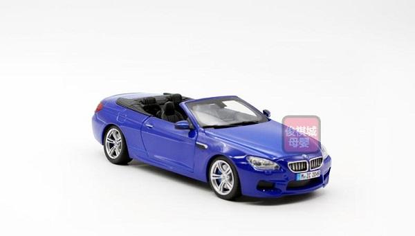 ขาย พรีออเดอร์ โมเดลรถ BMW M6 เปิดประทุน น้ำเงิน สเกล 1:24 มี โปรโมชั่น