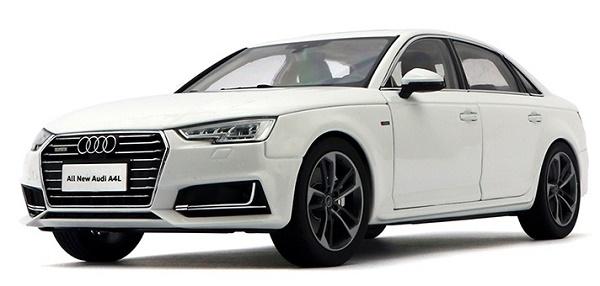 Pre Order โมเดลรถ Audi A4L ขาว 1:18 รุ่นหายากสุดๆ มีโปรโมชั่น