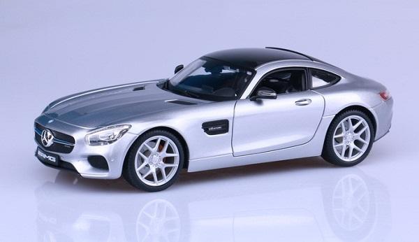 Pre Order โมเดลรถ Benz AMG GT เงิน 1:18 รุ่นหายากสุดๆ มีโปรโมชั่น