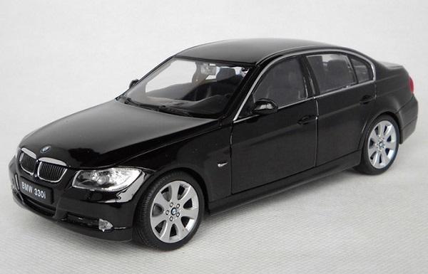 ขาย pre order โมเดลรถยนต์ BMW 330i ดำ 1:24 มี โปรโมชั่น
