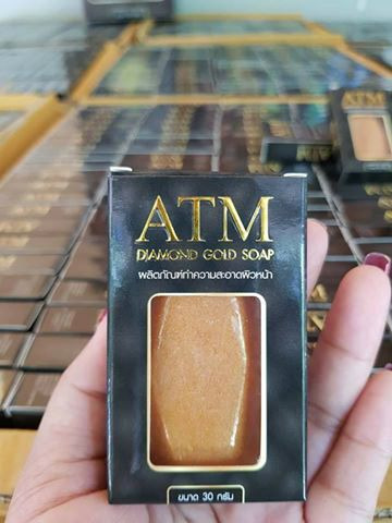 สบู่เพชรทองคำ ATM