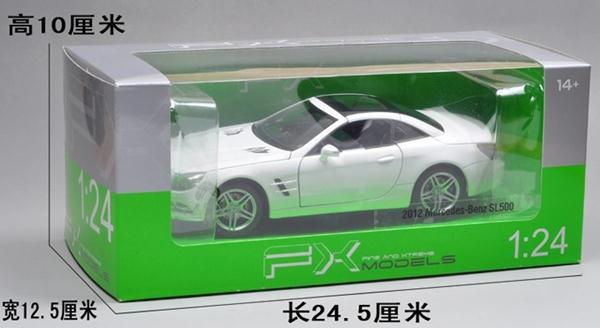ขาย พรีออเดอร์ โมเดลรถเหล็ก โมเดลรถยนต์ Benz SL500 1:24 สเกล มี โปรโมชั่น