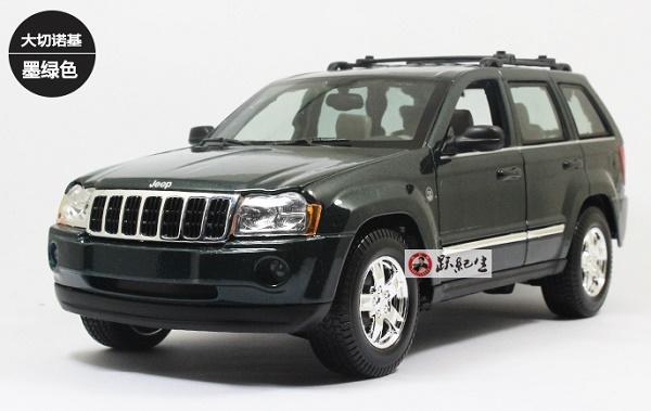 Pre Order โมเดลรถ JEEP Grand Cherokee 2005 เขียว 1:18 รุ่นหายากสุดๆ มีโปรโมชั่น