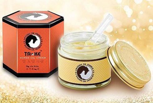Ta-ke Horse Oli Cream ครีมน้ำมันม้าเกาหลี แท้100%