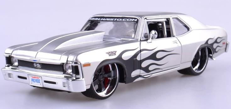 ขาย พรีออเดอร์ โมเดลรถเหล็ก โมเดลรถยนต์ 1970 Chevrolet Nova 1:24 มี โปรโมชั่น
