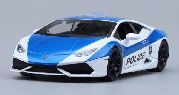 ขาย พรีออเดอร์ โมเดลรถเหล็ก โมเดลรถยนต์ lamborghini huracan 610-4 ตำรวจ 1:24 มี โปรโมชั่น