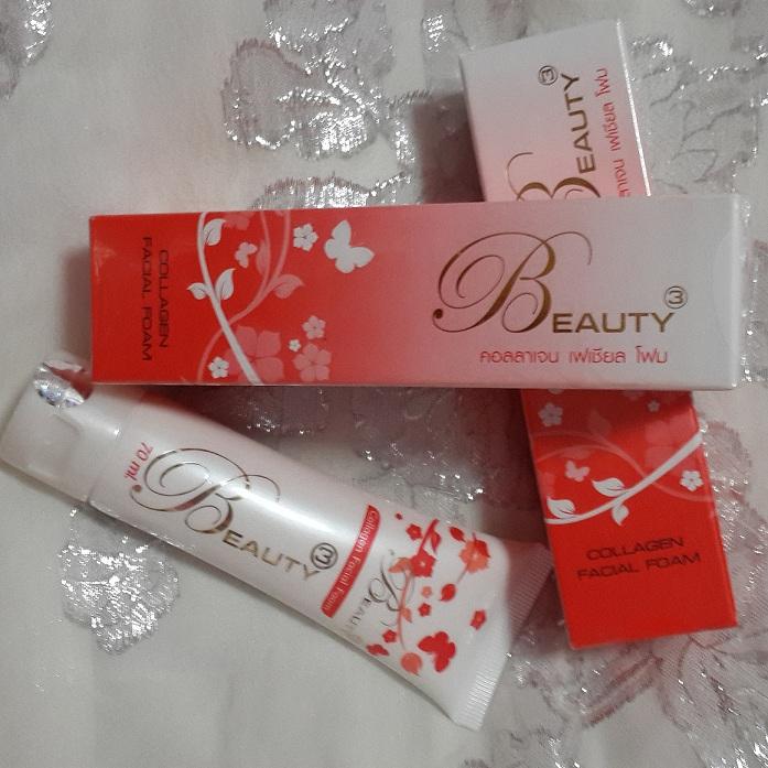 บิวตี้ทรี คอลลาเจนเฟเชียล โฟม (Collagen Facial Foam Beauty3)