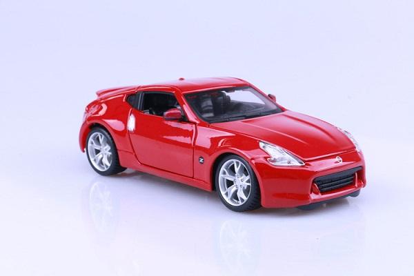 ขาย pre order โมเดลรถเหล็ก โมเดลรถยนต์ Nissan 370Z แดง 1:24 มี โปรโมชั่น
